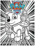 Coloring Book For Kids Paw Patrol And Amazing 120 Pages Coloring Book Large Wit