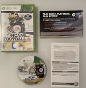 Ncaa Football 14 Xbox 360 Xbox 360, 2013 Disc With Case Tested And Works Cib