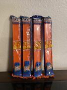 Lot Of 4 Packs Hot Wheels Track Builder 3ft Of Track + Connectors New
