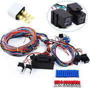 Usa Street Hot Rod 20 Fuse Complete 24 Circuit Wiring Harness Kits Universal