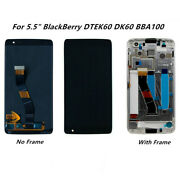Replacement For Blackberry Dtek60 Dk60 Lcd Display Screen Touch Digitizer+frame