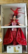 1994 Queen Of Hearts Barbie By Bob Mackie Limited Edition Nrfb 12046