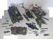 Chap Mei Soldier Force Army Toy Vehicle Tank Helicopter Boat Vintage 11.642