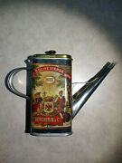 Vercherin And Huile D'olive Vierge Amco Corp. Olive Oil Tin Vintage