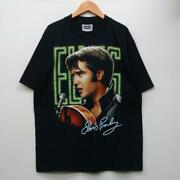 Second-hand Goods Elvis Presley T-shirt L Dead Stock Free Shipping From Japan