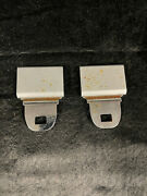 Vintage 70and039s / 80and039s / 90and039s Metal Seatbelt Buckles Pontiac / Gm / Something