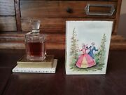 Old Vintage French Perfume Le Vertige Coty Sealed Baccarat From 30's Rare