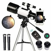 Toyerbee Telescope For Kidsand Beginners, 70mm Aperture 300mm Astronomical Refract
