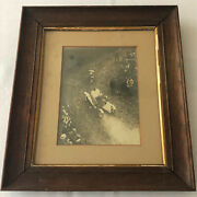 Early Car And Motorcycle Hill Climb Racing Framed Photo Photograph
