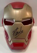 Stan Lee Signed Iron Man The Avengers Costume Toy Mask W/ Excelsior Hologram