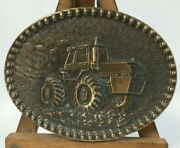 Vintage Case Belt Buckle Limited Edition Tractor Farm Farming Agriculture Crops