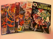The Mighty Crusaders 1-6 Red Cricle Comis/buckler/0521307 Full Set Lot Of 6