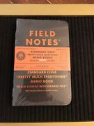 Field Notes Standard Issue Pretty Much Everything Sealed 3-pack Eeek L.e.