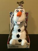 Olaf Disneyand039s Frozen 2 Ii Spring And Surprise--talking Plush Pop Up - Adorable