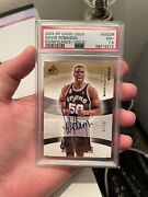 2004 Sp Game Used David Robinson Significance Gold Auto /10 Pop 1