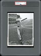 Ted Williams 1946 Red Sox Al Champs Type 1 Original Photo Psa/dna Crystal Clear