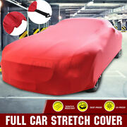 Stretch Car Cover Breathable Dust Sun Proof Protection Full Cover For Cars