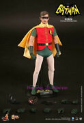 Hot Toys – Mms219 –the 1966 Batman Movie 1/6th Scale Robin Action Figure Stock