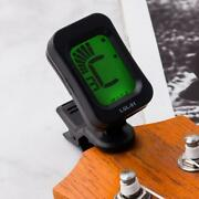 Lcd Electric Clip On Chromatic Acoustic For Guitar Bass Ukulele Banjo Tuner New