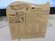 1969 Redline Hot Wheels The Spoilers Olive Heavy Chevy Left Side Card Seperating