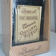 The Original Old Fashion Jacob Bromwell American Made Popcorn Popper New In Box