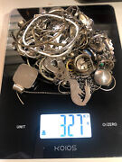 327 Grams Sterling Silver Jewelry - Restock Your Store, Resale, Gift