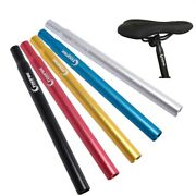 1x mtb Bike Bicycle Aluminum Alloy Seat Post Tube Rod Optional Color And Size