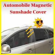 Automobile Magnetic Sun Shade Cover Car Side Front Arch Back Square Mesh Cloth