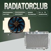 Kks Radiatorandfan Shroudand16 Fan For 72-86 Jeep C/j Series For Chevy Engines Only