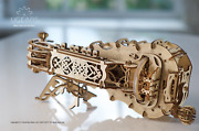Hurdy-gurdy 3d Mechanical Puzzle By Ugears
