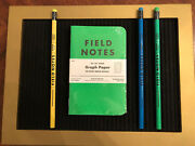 Field Notes Summer Camp 3 Pack Of Sealed Notebooks With Matching Pencils