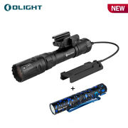 Olight Odin Turbo Magnetic Lep Tactical Flashlight + I5t Eos Torch Tail Switch