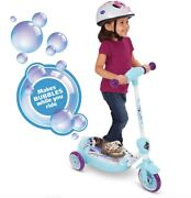 Disney Frozen 3-wheel Electric Scooter Kid-powered Bubble Scooter-freeship