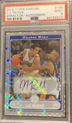 Psa 9 Mint 06 07 Topps Chrome Jj Redick Xfractor Auto 3/10 Extremely Rare Card
