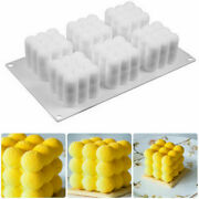 Mould Wax Candle Diy Soy Soap 3d Silicone Aromatherapy Candle Plaster Mold
