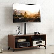 Tv Stand Unit With Mount Universal Pedestal Base For 65 Console Cabinet