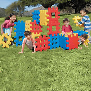 18 Piece Little Tikes Waffle Construction Building Toddler Kid Play Block Set