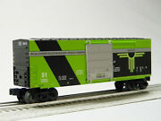 Lionel Area 51 Hi-cube Boxcar O Gauge Rolling Stock Alien Recovery 2023050-b New