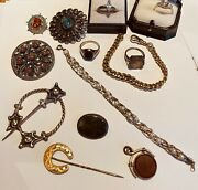 Rare Opportunity To Buy Old Jewellery From A Retired Jewellers Attic