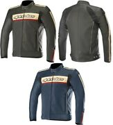 Alpinestars Dyno V2 Leather Motorcycle Jacket Mens All Sizes And Colors