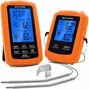 Wireless Digital Bbq Meat Thermometer - Instant Read Remote Cooking...