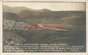 Nv Contact Nevada Rppc Railroad Town Site From Granite Hill Mining Martin