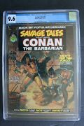 Savage Tales 2 Conan Barry Smith Marvel 1973 Kull Wrightson Brunner Cgc Nm+ 9.6