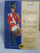 T117. 1993 Britains Toy Soldier Shop Counter Cardboard Display