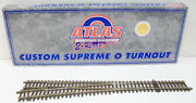 Atlas 7024 O Scale 2-rail 5 Left Hand Turnout/switch