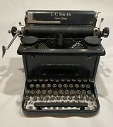 Lc Smith And Corona Super Speed Typewriter Antique Vintage Manual Portable L. C.