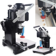 110v Pneumatic Hinge Boring Insertion Machine For Loose And Hinge Drilling 750w