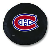 Montreal Canadiens Hbs Black Vinyl Fitted Spare Car Tire Cover