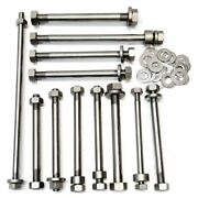 Norton P11 Engine To Frame Bolt Set Stainless Steel