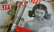 """6 Life Magazine """"fashion"""" Issues, 1940s Hats, Hoodies, Crazy Gloves, Swimsuits"""